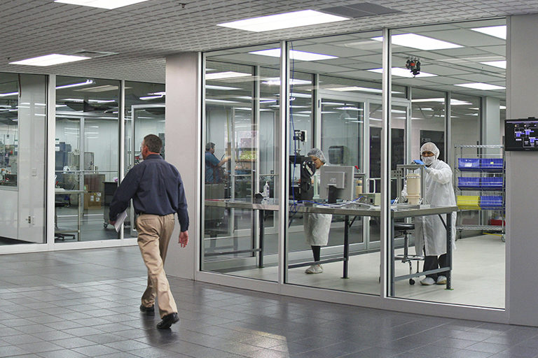 Cleanroom manufacturing medical solutions