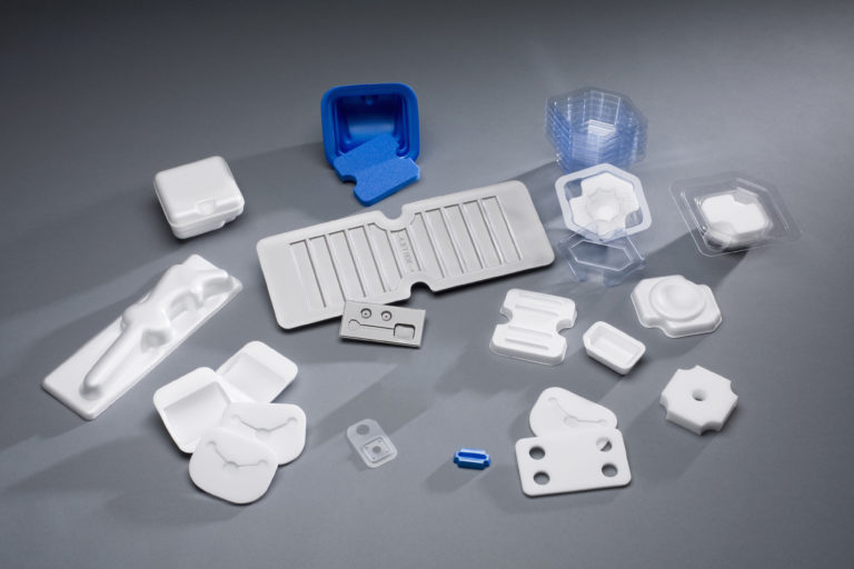 Compression Molded Medical Packaging and Components