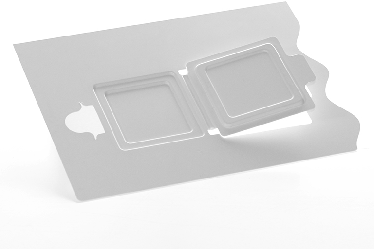 Medical pouch cards for packaging